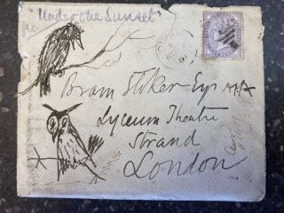 AUTOGRAPH LETTER ADDRESSED TO BRAM STOKER [ALS