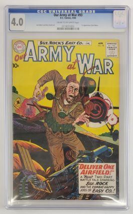 OUR ARMY AT WAR NO. 93 [SLABBED]. Joe Kubert, Russ Heath
