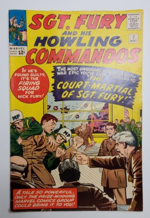 SGT. FURY AND HIS HOWLING COMMANDOS VOL. 1, NO. 7. Jack Kirby