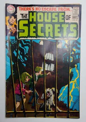 THE HOUSE OF SECRETS NO. 81