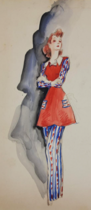 Red, White, And Blue Pajamas (ref #35). Montedoro