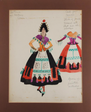 Costumes From Northern Spain (ref #38). Montedoro