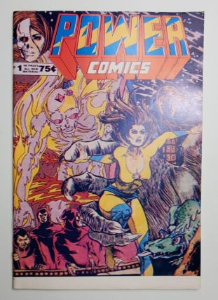 POWER COMICS (FEATURING NIGHT WITCH) NO.1. David Sim