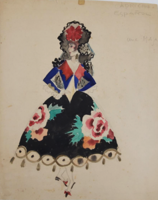 Spanish-Inspired Costume (ref #39). Montedoro