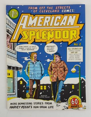AMERICAN SPLENDOR NO. 2. Harvey Pekar