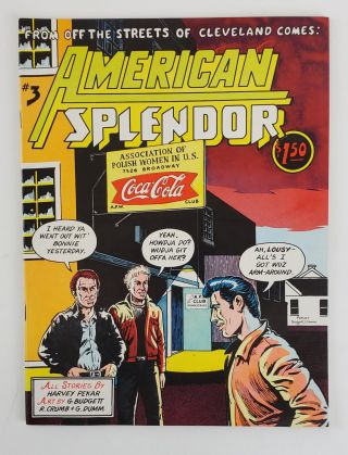 AMERICAN SPLENDOR NO. 3. Harvey Pekar