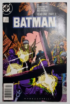 BATMAN YEAR ONE: PART THREE. Frank Miller, David Mazzucchelli