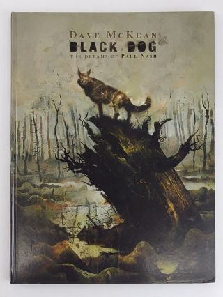 BLACK DOG: THE DREAMS OF PAUL NASH. Dave McKean