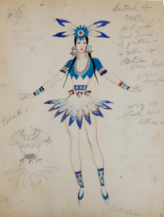 American Indian-Inspired Costume (ref #47). Montedoro
