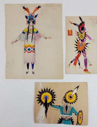 Three American Indian-Inspired Costumes (ref #48). Montedoro