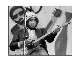 PHOTO OF BOB DYLAN: Ft Collins, 1976 [Signed by Aronson and numbered 1 of 6]. Jerry Aronson