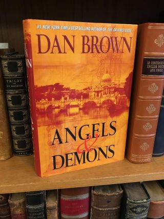 ANGELS & DEMONS [SIGNED]. Dan Brown