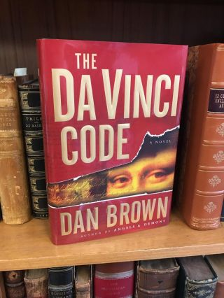 THE DA VINCI CODE [SIGNED]. Dan Brown