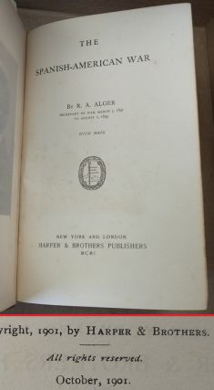 THE SPANISH-AMERICAN WAR [SIGNED]